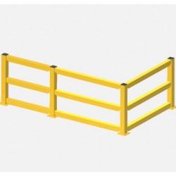 Bariery systemowe - przęsło środkowe, dolne